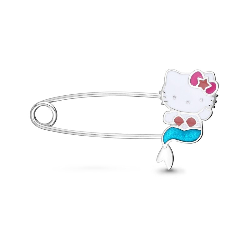 Булавка 74430 серебро 925 Hello Kitty