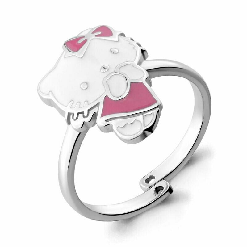 Кольцо 54631 серебро 925 Hello Kitty