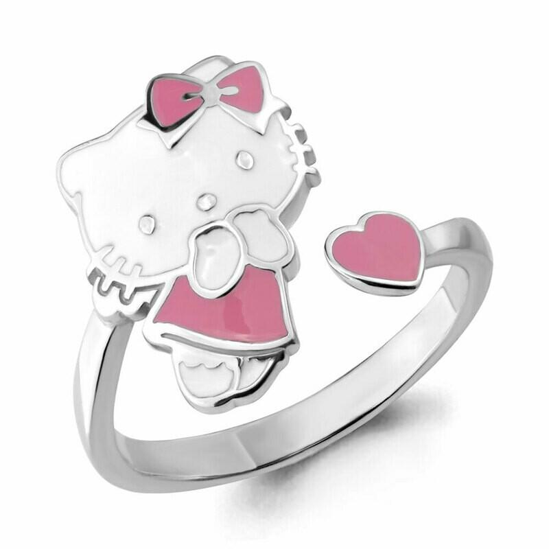 Кольцо 54632 серебро 925 Hello Kitty