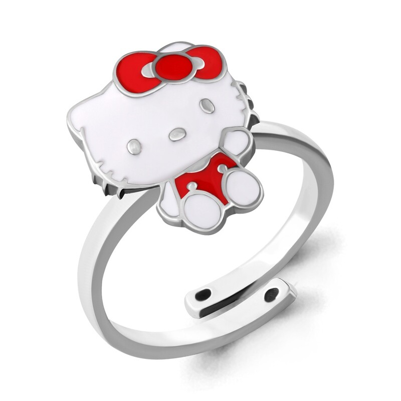 Кольцо 54633 серебро 925 Hello Kitty