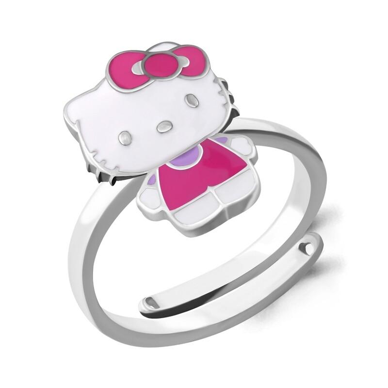 Кольцо 54658 серебро 925 Hello Kitty
