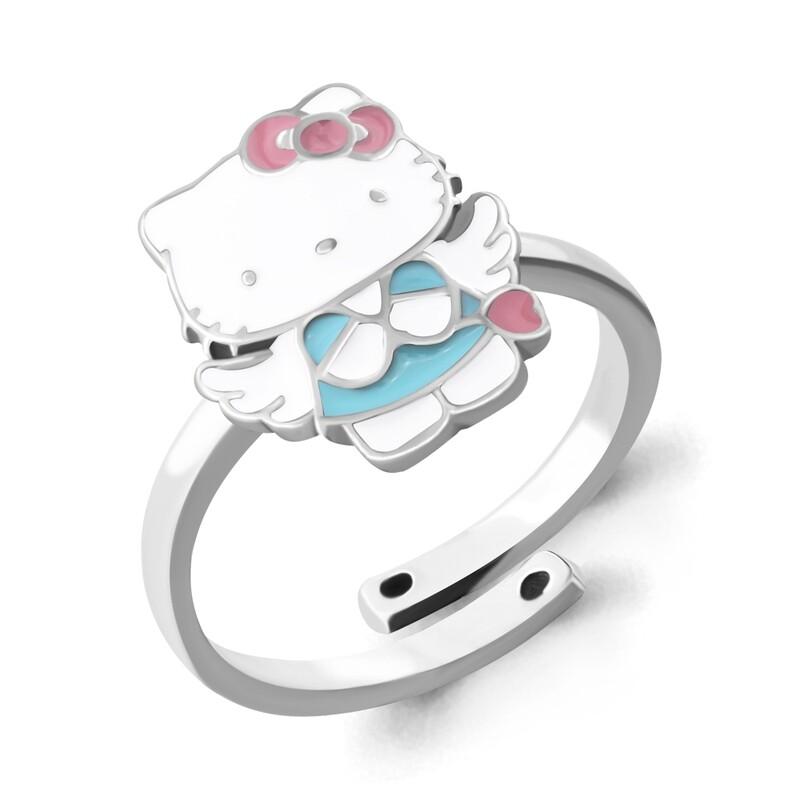 Кольцо 54640 серебро 925 Hello Kitty
