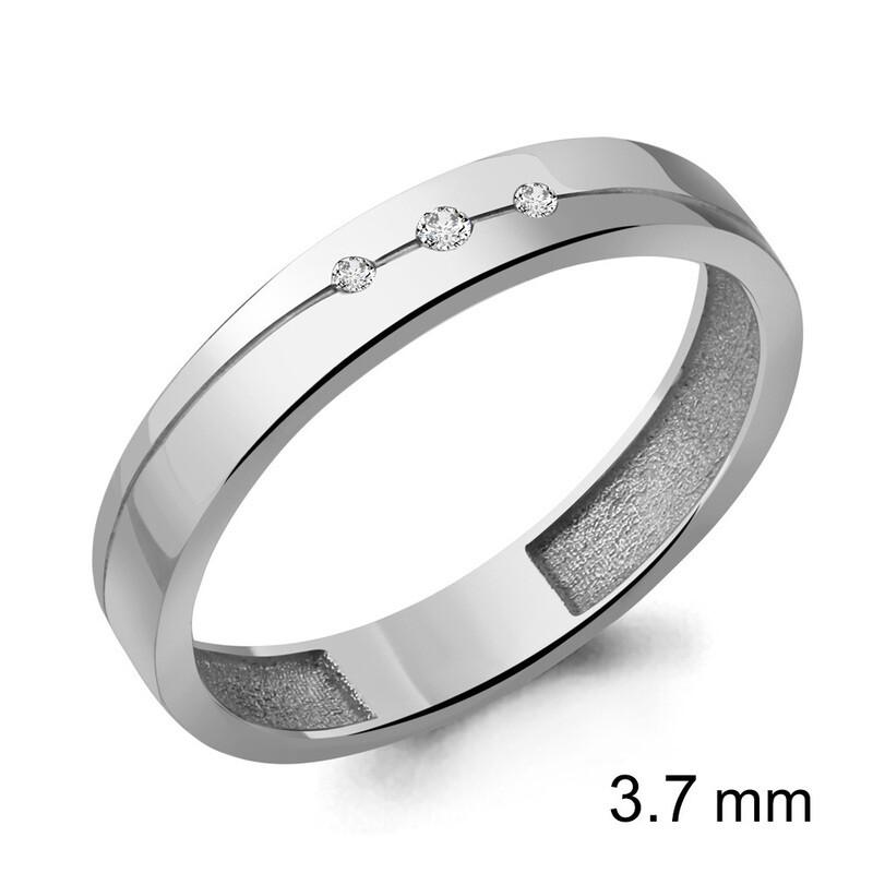 Кольцо 62272А  серебро 925