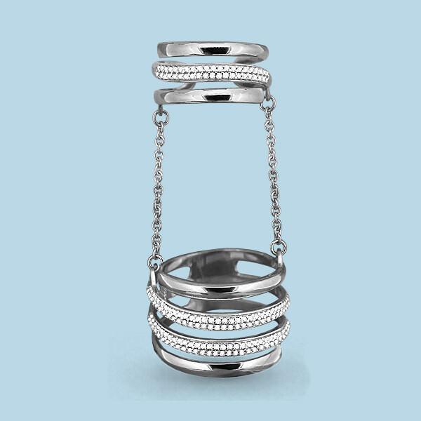 Кольцо 63859А серебро 925