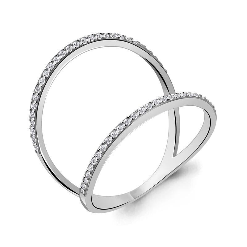 Кольцо 64578А серебро 925