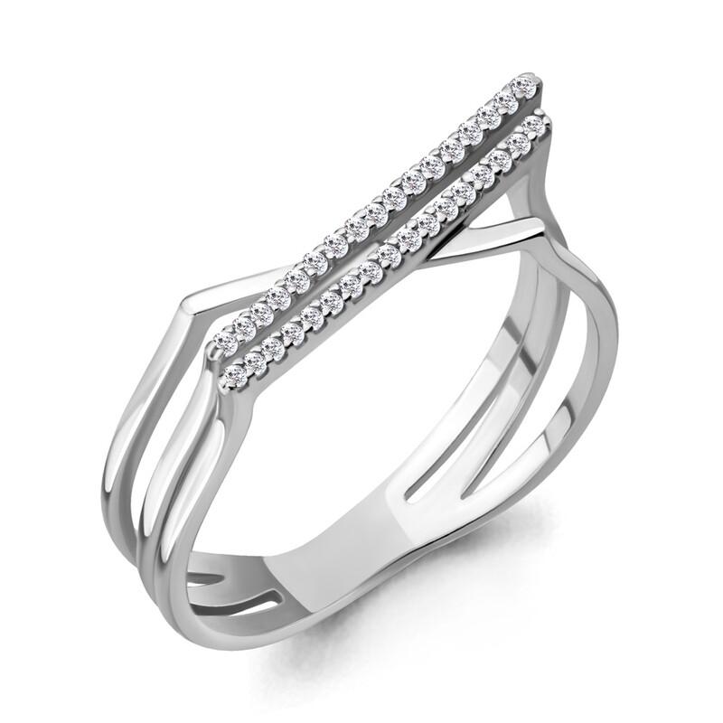 Кольцо 64681А серебро 925