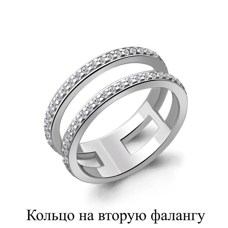 Кольцо 67509А серебро 925