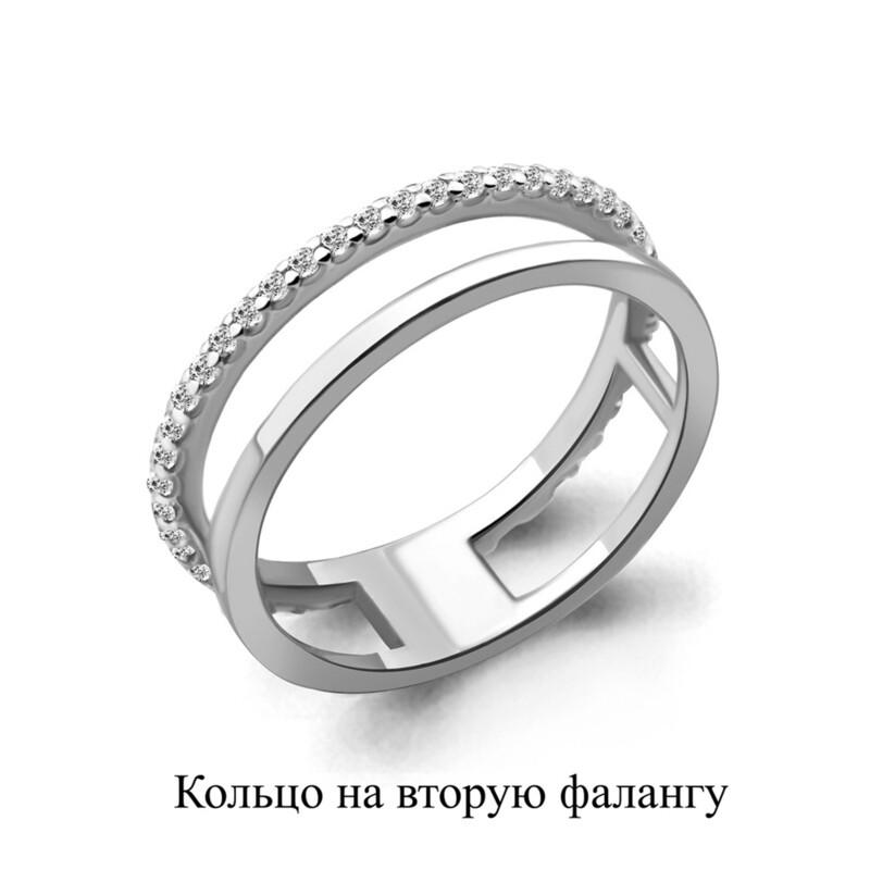 Кольцо 67510А.5 серебро 925