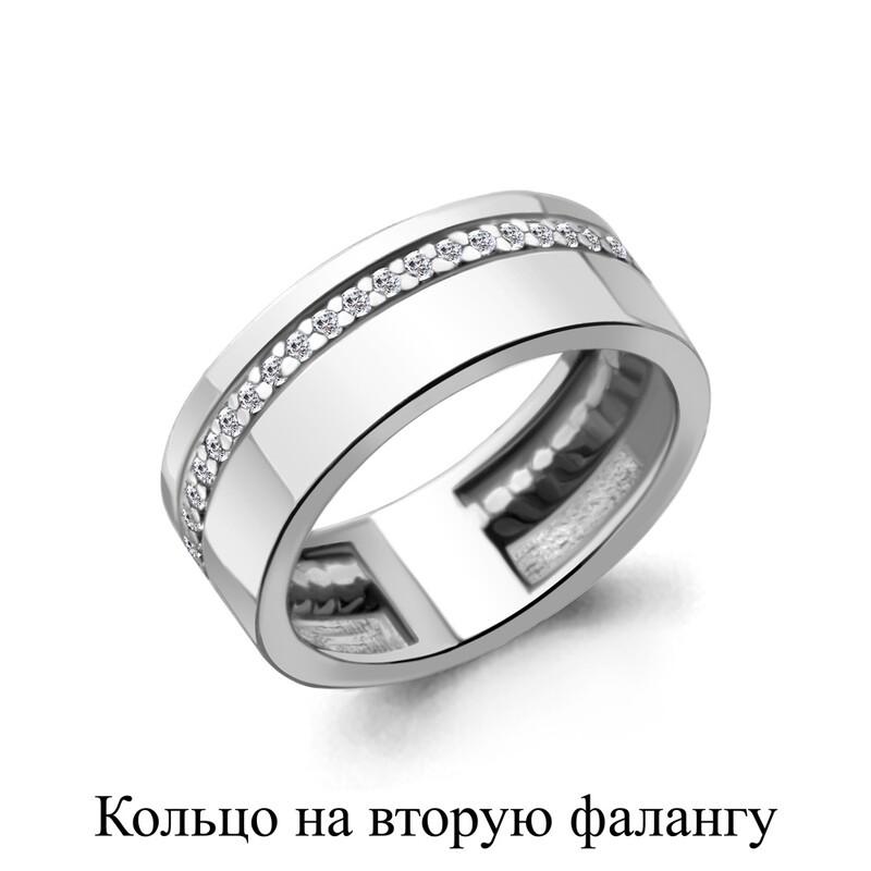 Кольцо 67512А  серебро 925