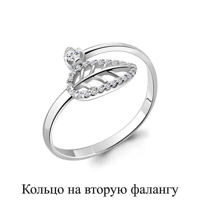 Кольцо 67515а.5 серебро 925