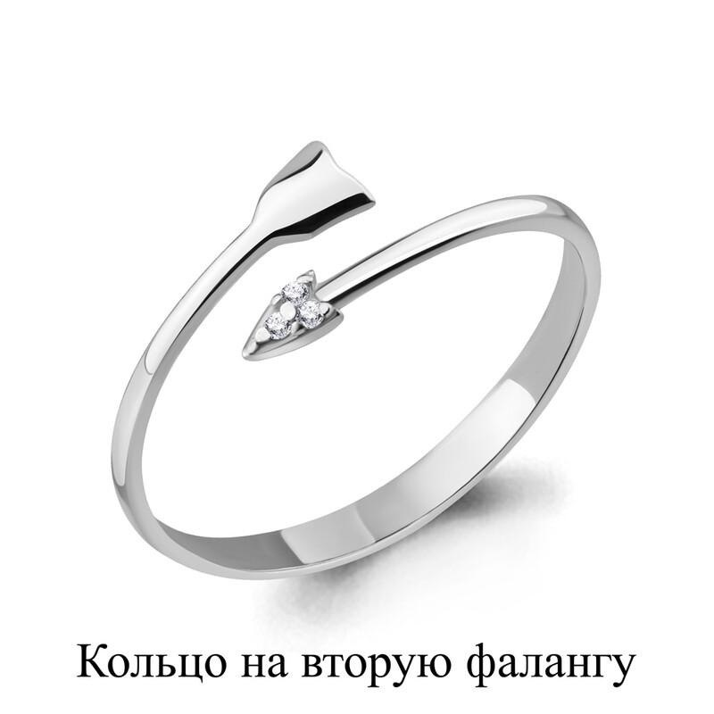 Кольцо 67525А серебро 925