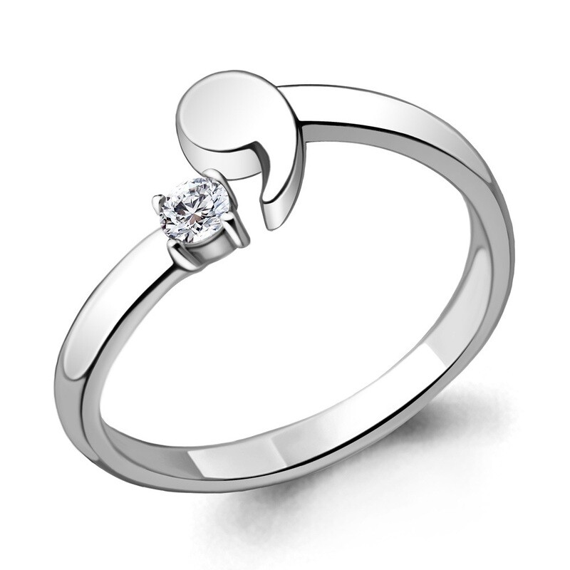 Кольцо 68678А  серебро 925