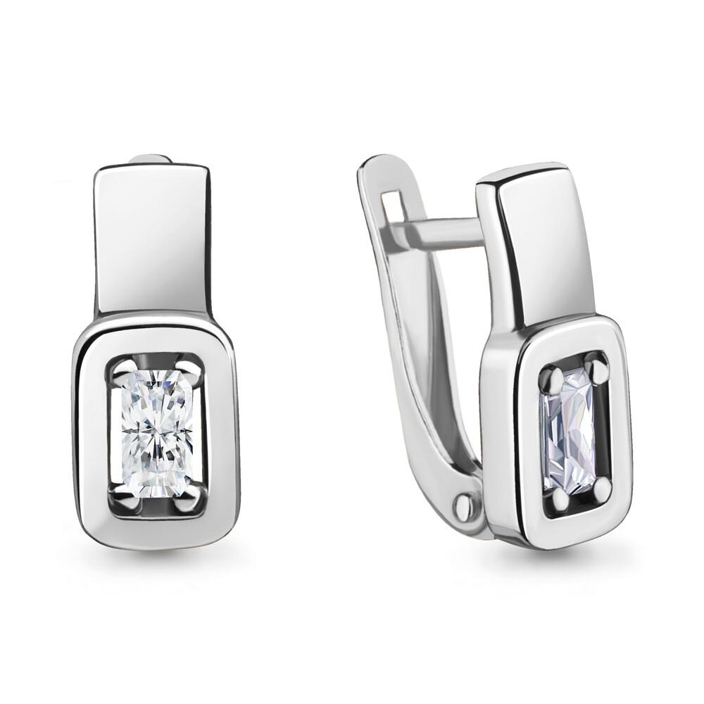 Серьги  46706 серебро 925