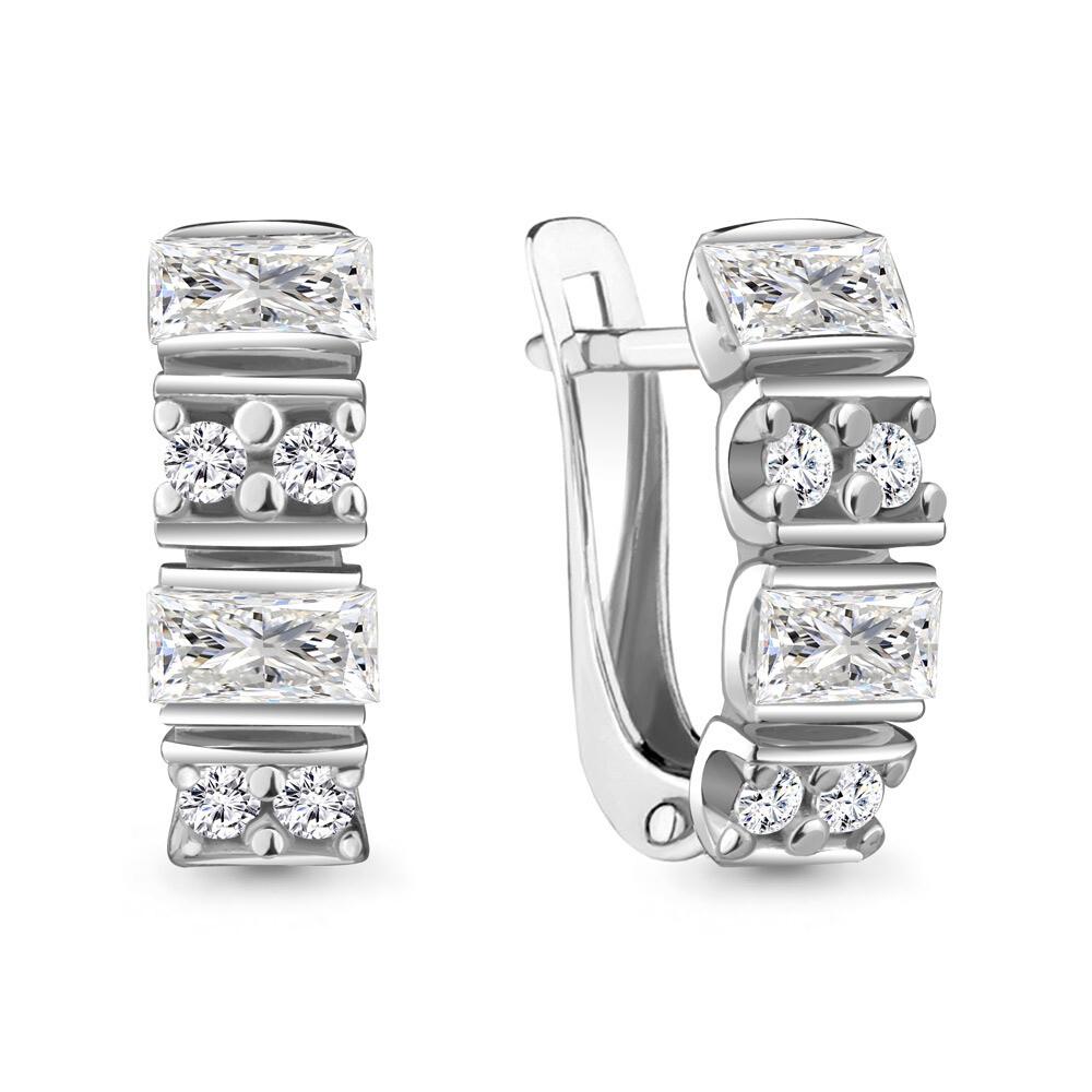 Серьги 48272А серебро 925