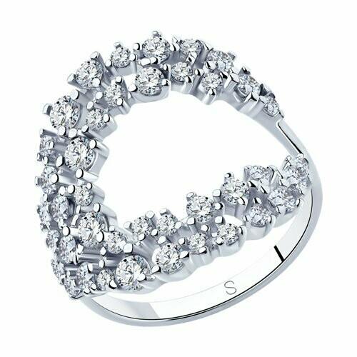 Кольцо 94013027 серебро 925