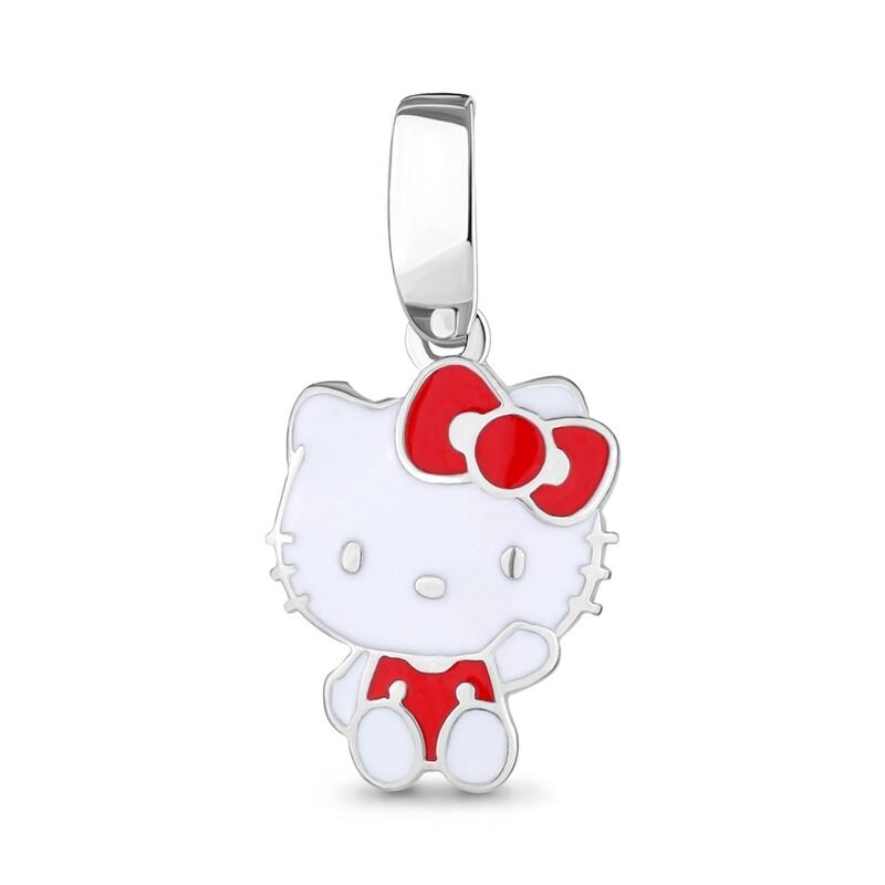 Подвеска 15078 серебро 925 Hello Kitty