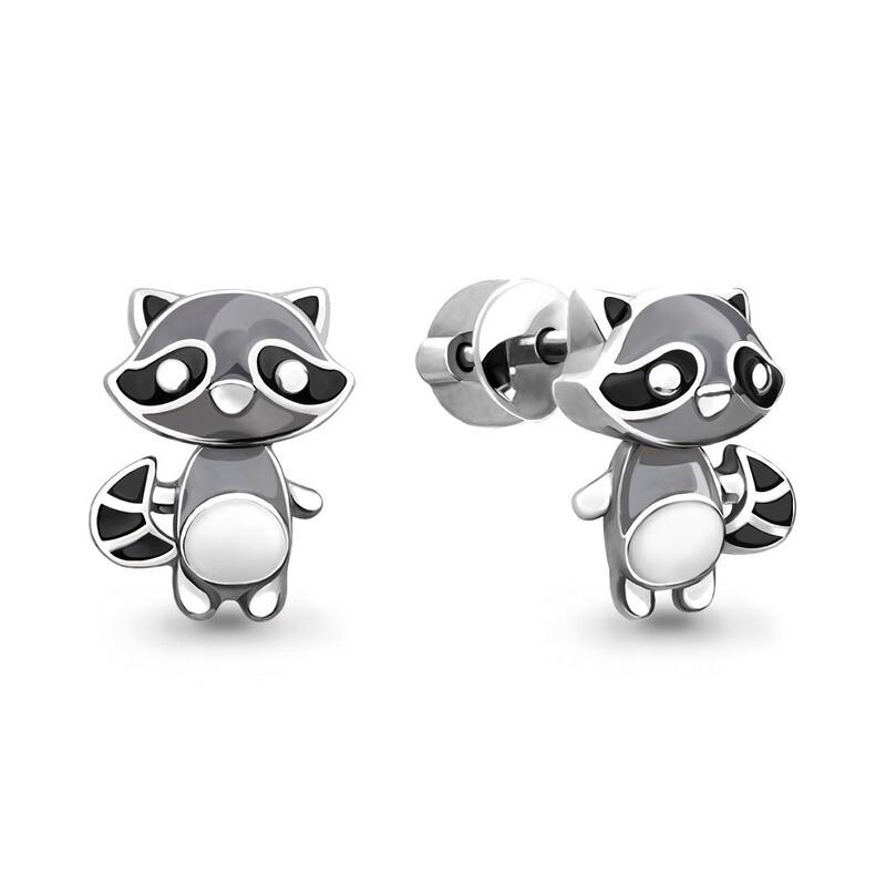 Серьги 33336  серебро 925