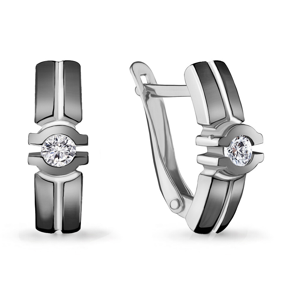 Серьги 46979А серебро 925