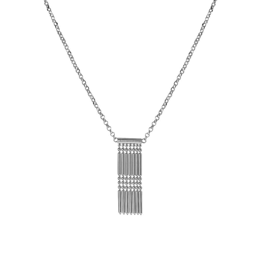 Колье XGI01651-RD серебро 925