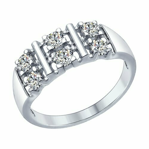 Кольцо 94012306  серебро 925