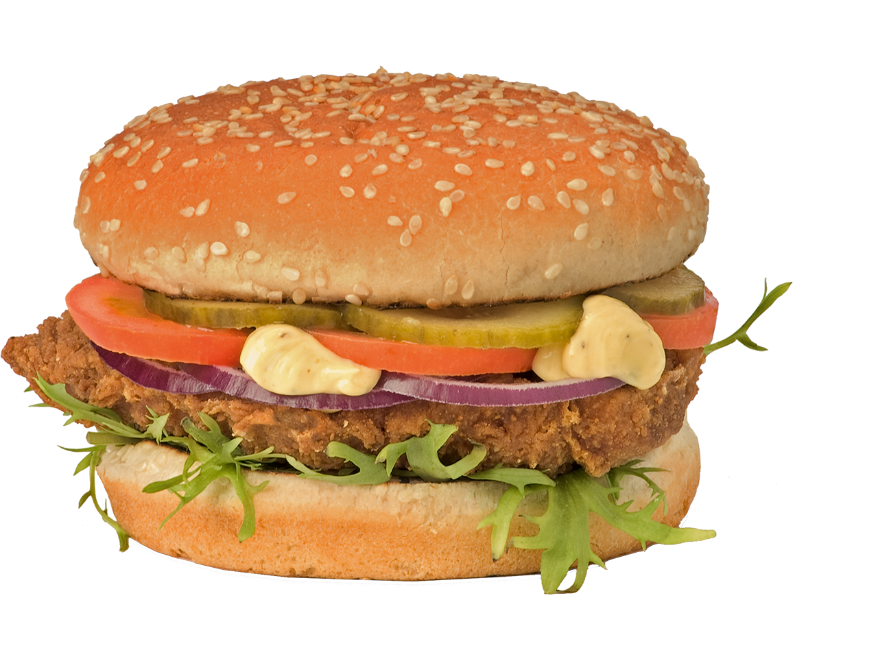Spicy Chicken Burger