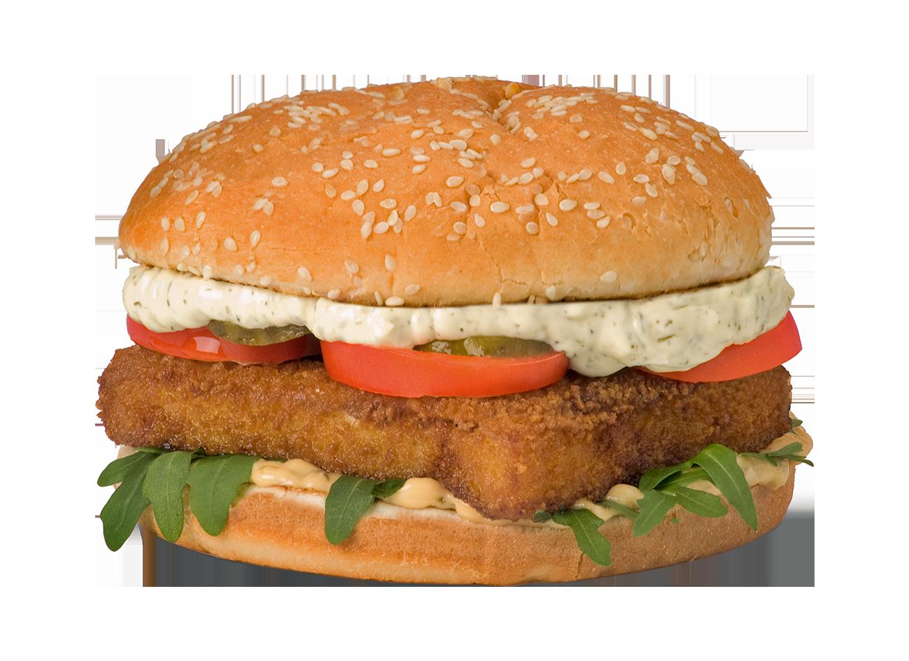 Alaska Fish Burger