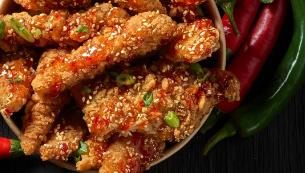 Asian Chicken Mixed (8st)