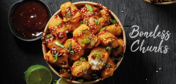 Asian Chicken Chunks (10st)