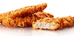Chicken strips (v.a. 3st)