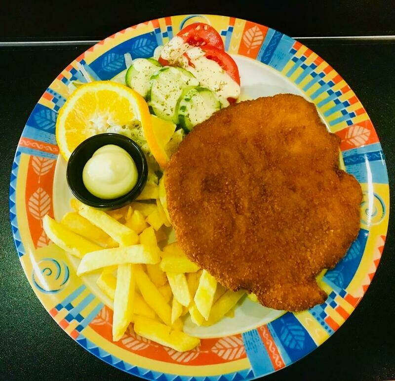 Menu Schnitzel