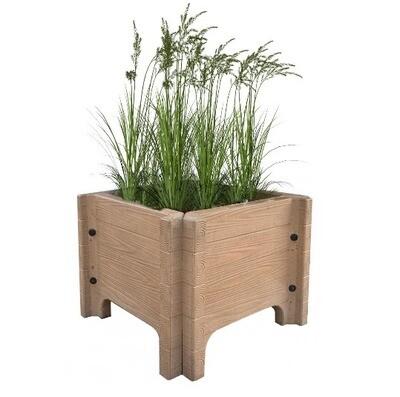 Wooden Texture Planter