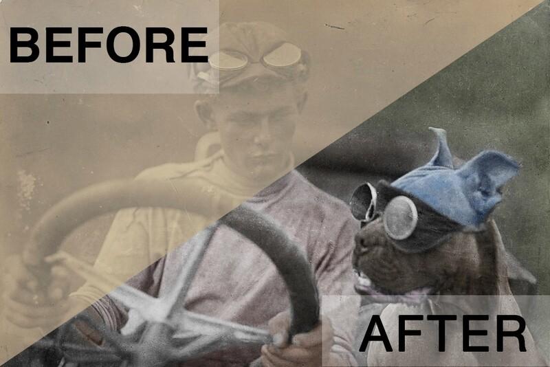 Photoshop Mini-Sessions- Photo Restorations