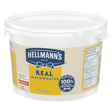 Hellman's Mayo 4Lt