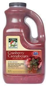 Cranberry Salsa 3.7Lt