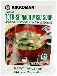 Tofu Spinach Miso Soup 30gr