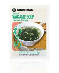 Wakame Seaweed Soup 18gr