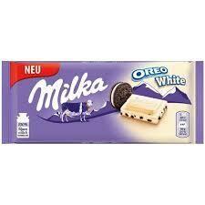 Milka Oreo White 100gr