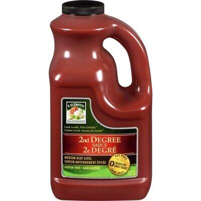 2nd  Degree Sauce 3.78Lt