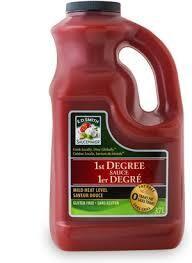 1St Degree Sauce 3.78Lt