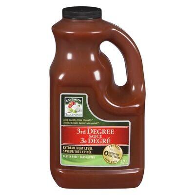 3rd  Degree Sauce 3.78Lt