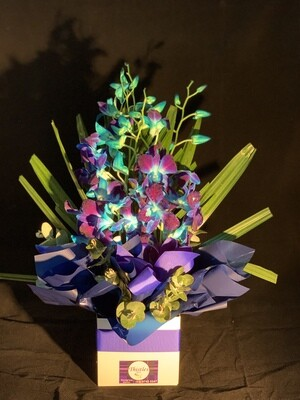 Blue orchid Box