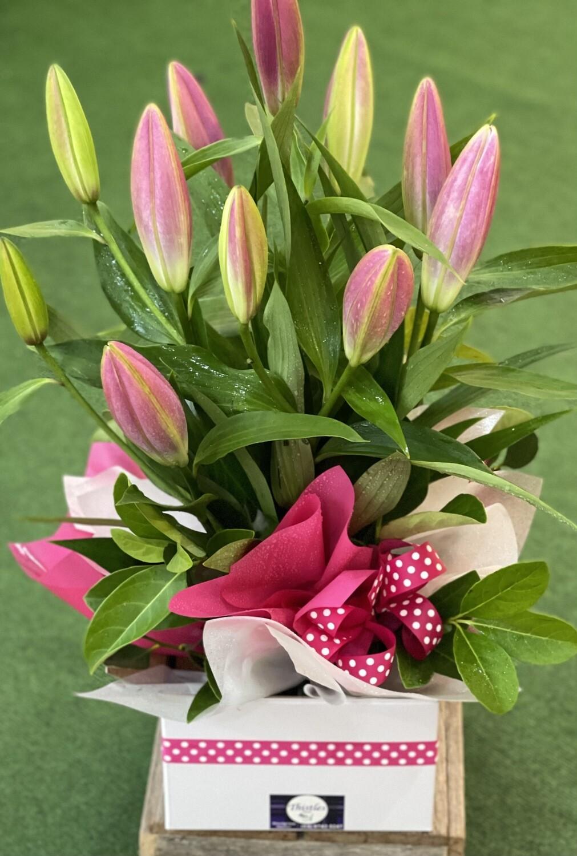 Pink Lily Box