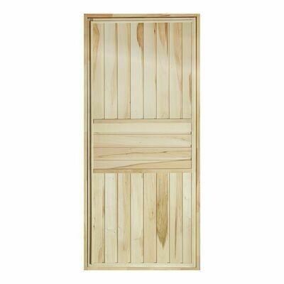 Дверь для бани и сауны, 170см*70см, горизонталь,