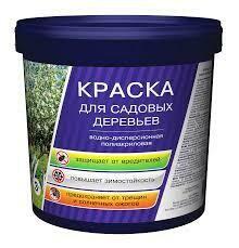 Краска для садовых деревьев (3кг) полиакриловая