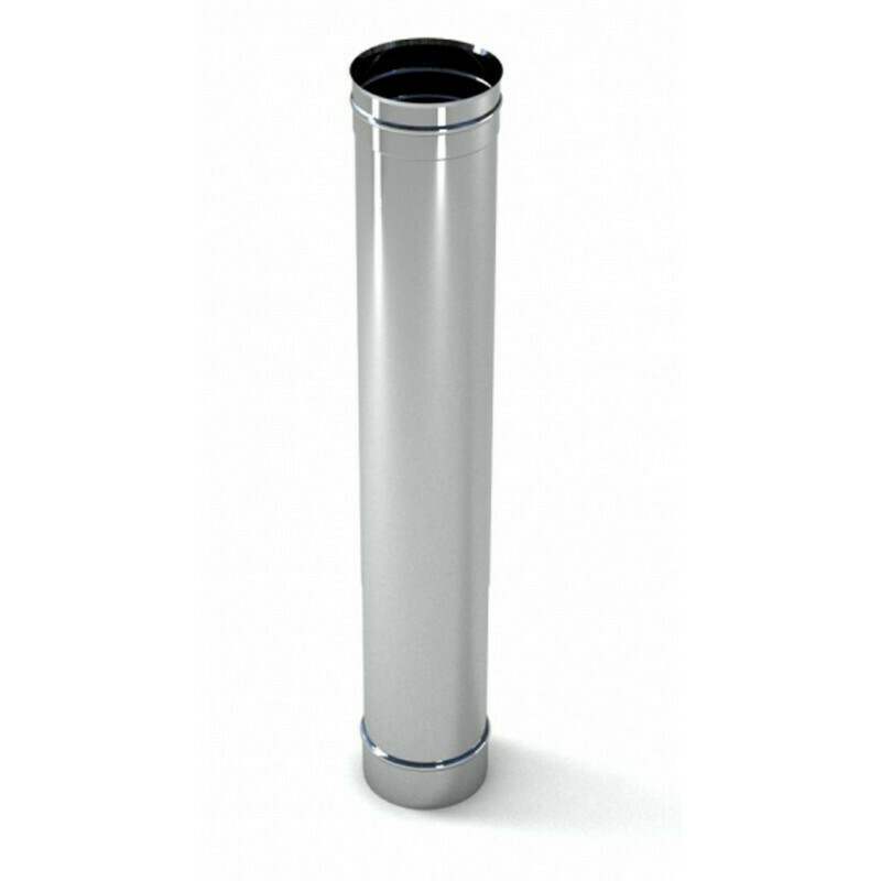 Труба оцинкованная D=130мм, 0,5мм (0,5 метра)