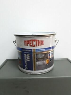 Эмаль акриловая для бетонных полов СЕРАЯ (4кг)