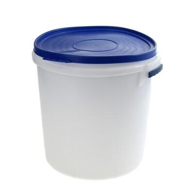 Бак 45л. пищевой с герметичной крышкой