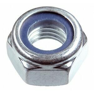 Гайка М14 с нейлоновым кольцом