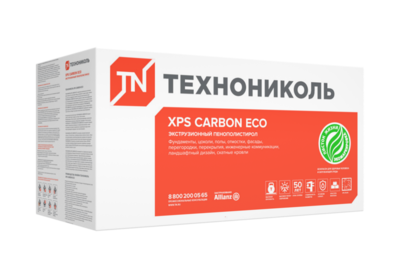 Техноплекс CARBON ЭКО 1200мм*600мм*20мм 0,72м² (20шт/ 14,4м²/упаковка)