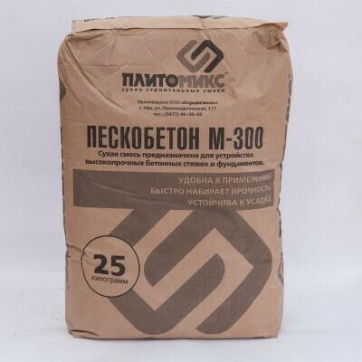 Пескобетон М-300 (25кг)